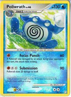 Pokemon Card Legends Awakened Non Holo Rare Poliwrath 35/146 FREE combined ship