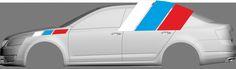 Škoda Octavia RS car graphics in data   Grafika vozu Octavia RS v datech