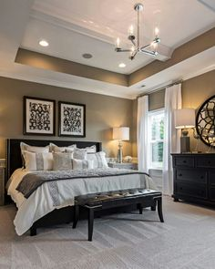 Taylor Morrison Homes. Paint: SW7045 Intellectual Grey