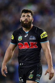 Josh Mansour Photos Photos - Josh Mansour of the Panthers shows his dejection during the NRL Second Preliminary Final match between the Penrith Panthers and the Canterbury Bulldogs at ANZ Stadium on September 27, 2014 in Sydney, Australia. - NRL 2nd Preliminary Final - Penrith v Canterbury