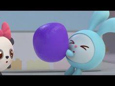 Мои Малышарики-игрушки - Играем в игру: Кто за дверцей - Развивающие видео для малышей - YouTube