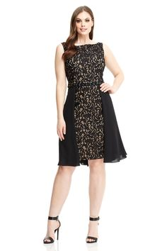 London Times Gwen Curve Fit & Flare