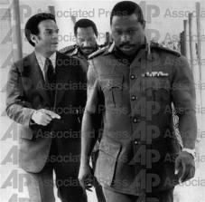 President of the Fedral Republic of Nigeria 1977