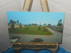 1960's Holiday Inn Hotel Long Beach, Mississippi~Old Cars~Beautiful View by memoriestreasures on Etsy