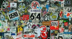 Promotional Stickers, Usa Country, Personalized Stickers, My Journal, Street Artists, Unique Art, Graffiti, Scene, Nyc