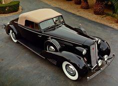 1937 Packard Twelve Convertible Victoria