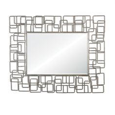 Reena Mirror - Uttermost - Designer Grace Feyock - 43W x 54H x 1D - 47 pounds - can be hung either  way
