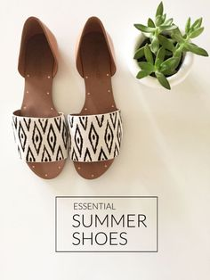 It's summer - your toes deserve a break from the confines of winter boots and sneakers. Flip flops and thongs, however, are not suitable for every occasion. As the summer parties and special occasions kick into gear, show off a sophisticated style with some cute printed flats, ideal for both comfort and matching your style. Strappy sandals in a bright color can spice up a little black dress or contrast your outfit. For more summer style tips, read on as eBay shows off this summer's shoe…
