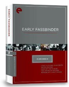 Amazon.com: Eclipse Series 39: Early Fassbinder (Criterion Collection): Rainer Werner Fassbinder, Karl Scheydt, Ulli Lommel, Eddie Constantine, Hanna Schygulla, Lou Castel: Movies & TV