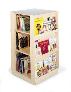 Space Saving Idea: Revolving Bookcases | Apartment Therapy