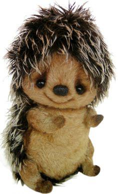9e4bb516f67 Clemens 41.003.013 Hedgehog Igel Zilly by Katya Bespalovas with Organza  Pull String Bag