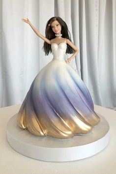 Doll Cake - Fancy Cakes by Lauren Kitchens