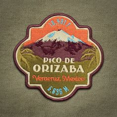 The Pico de Orizaba Patch is part of The Dream Series - a collection of designs illustrating mountains every climber dreams of summiting.