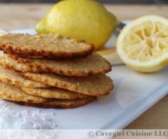 Lemon Coconut Cookies Recipe | Paleo inspired, real food