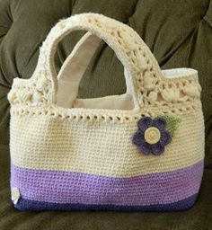 laura's frayed knot: My new church bag