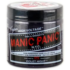 Tish Snooky's Manic Panic Semi-Permanent Hair Color Cream ($11) ❤ liked on Polyvore featuring beauty products, haircare and hair color