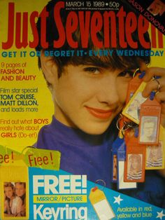 JUST SEVENTEEN MAGAZINE 15/3/89 - BROTHER BEYOND - JASON DONOVAN