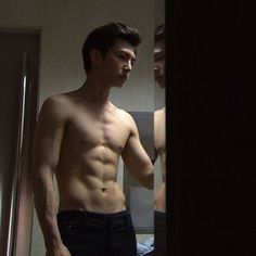 Aaron Yan on @dramafever, Check it out! Good lord for this man!