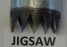 "Metal Drill Bit by dawnlw -- Homemade metal drill bit cut from a 6"" length of 2"" galvanized pipe utilizing a jigsaw. Intended to facilitate the process of drilling wells. http://www.homemadetools.net/homemade-metal-drill-bit"
