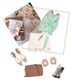 """spring is here"" by tami-m-h on Polyvore featuring MANGO, Zimmermann, Anabela Chan, Michael Kors and Burberry"