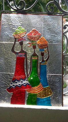Aluminum Foil Crafts, Metal Crafts, Tin Foil Art, Waste Art, Pewter Art, African Paintings, Metal Embossing, Indian Folk Art, Mural Art