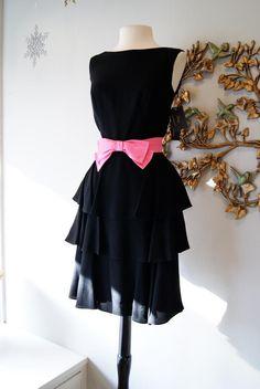 black and pink vintage