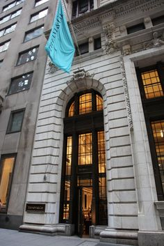 Tiffany's on Wall Street    me want a gift in a little blue box x    same