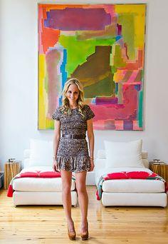 Crosby Street, New York - a block from Broadway, Devon Radziwill,  peek into her loft via APT with LSD on Vogue.com.