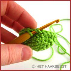 Halve cirkel haken Tutorials haken - crochet Pinterest ...