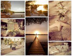 Beach decor from Blue Water Weddings