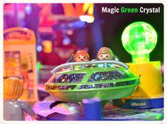 Magic Green Crystal  #playmobil #Playmodocthemepark #Freizeitpark #april #Amusement #theme #Park #train #clown #balloon #athenssky #athenseye #keepcalm #sepia #lollipop #girl #candy #juice #popcorn #kids #fun #athens #grecobil