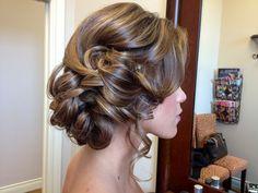 Up do , bridal updo ,half up , bridesmaids hair updo