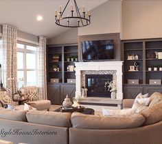 Living Room Wall Color Mindful Gray