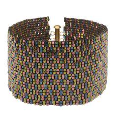 Tutorial - How to: Midnight Metallic Bracelet | Beadaholique