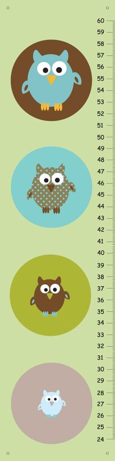 Love the idea of growing animal next to inches