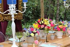 Summer inspired table decor #makeitamomenttoremember