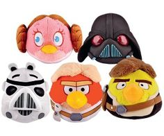 Star Wars Assorted Angry Birds Soft Toys