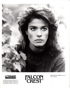 Kristian Alfonso as Pilar Cumson in Falcon Crest Falcon Crest, Kristian Alfonso, Tv Show Casting, Soap Opera Stars, Days Of Our Lives, Jon Snow, Favorite Tv Shows, It Cast, In This Moment