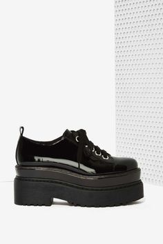 Jeffrey Campbell Schism Patent Leather Oxford | Shop Shoes at Nasty Gal!