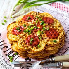 feed_image Pepperoni, Waffles, Spaghetti, Pizza, Breakfast, Ethnic Recipes, Food, Image, Morning Coffee
