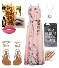 """Untitled #215"" by xox-calumsgxrl on Polyvore featuring Steve Madden, Lime Crime and Pandora"