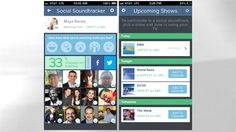 Social Soundtracker, a mobile and web-based app ABC News is launching today that allows you to watch together in an immediate and intuitive way.