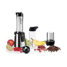 Ergo Chef My Juicer II Personal Juicer Smoothie Blender with Extra Sports Bottle and Grinder Assembly, coffee bean grinder, flax seed, chia seeds and more. *** Click on the image for additional details.