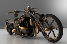 Steampunk-Chopper-Extreme-Custom-Motorcycle6.jpg. Need to add brakes!