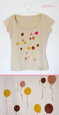 Latontaelrosa balloon globo camiseta t-shirt ilustración illustration accesorios accessoires ropa clothes regalos gift miraquechulo
