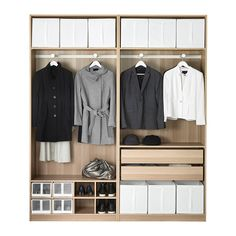 PAX Wardrobe IKEA 10 year guarantee. Read about the terms in the guarantee brochure.
