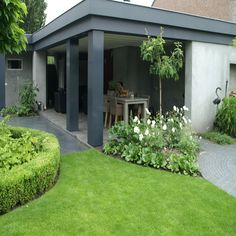 Stoere veranda(palen)!!