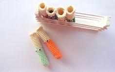 TEST TUBES  AMIGURUMI Pattern/ Crochet Pattern/ Chemistry Instruments by WhiteSheepShop on Etsy