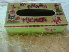 Kisten & Boxen - Kosmetiktücherbox - ein Designerstück von Deko-Huette bei DaWanda
