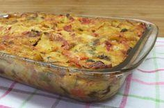Lasagna with Vegetables Cookbook Recipes, Cooking Recipes, Healthy Recipes, Healthy Foods, Greek Dishes, Greek Recipes, Original Recipe, Summer Recipes, Lasagna